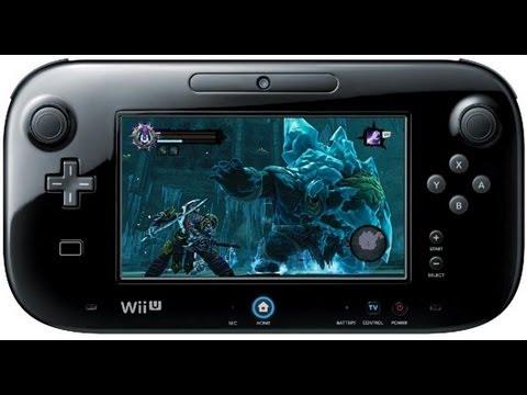 Nintendo wii u darksiders 2 gamepad tablet gameplay for Nintendo wii u tablet