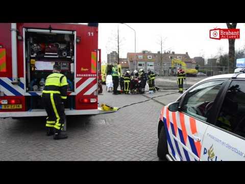 (VIDEO) 10-03-2017 Vrouw in rolstoel belaagd en met bijtende vloeistof overgoten in Breda
