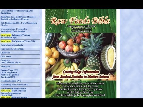 RawFoodsBible.com, Dr. Craig Sommers - Interview