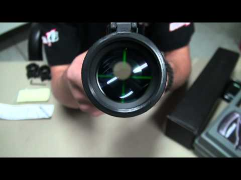 Bravo 3 9 x 40 red green illuminated scope Review