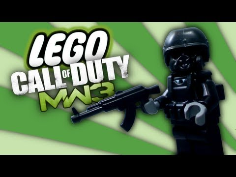 Lego MW3 Music Videos