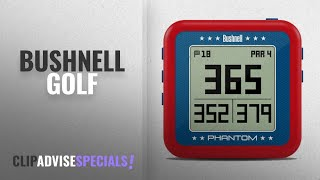 Top 10 Bushnell Golf [2018]: Bushnell 368821 Phantom Golf GPS Rangefinder, Red/Blue