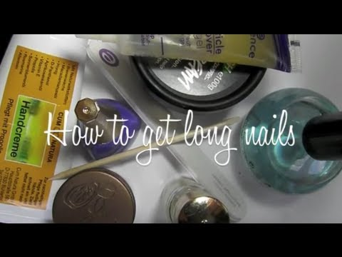 How to get long nails: updated weekly nail routine
