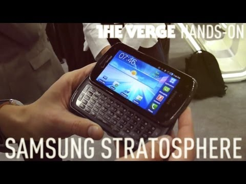 Samsung Stratosphere Hands-On CTIA 2011