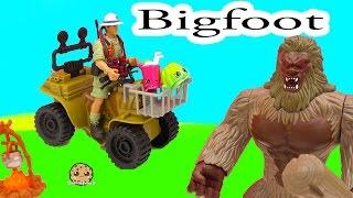 Animal Planet Bigfoot Hunt Adventure Playset with Season 4 Shopkins - Cookieswirlc Video