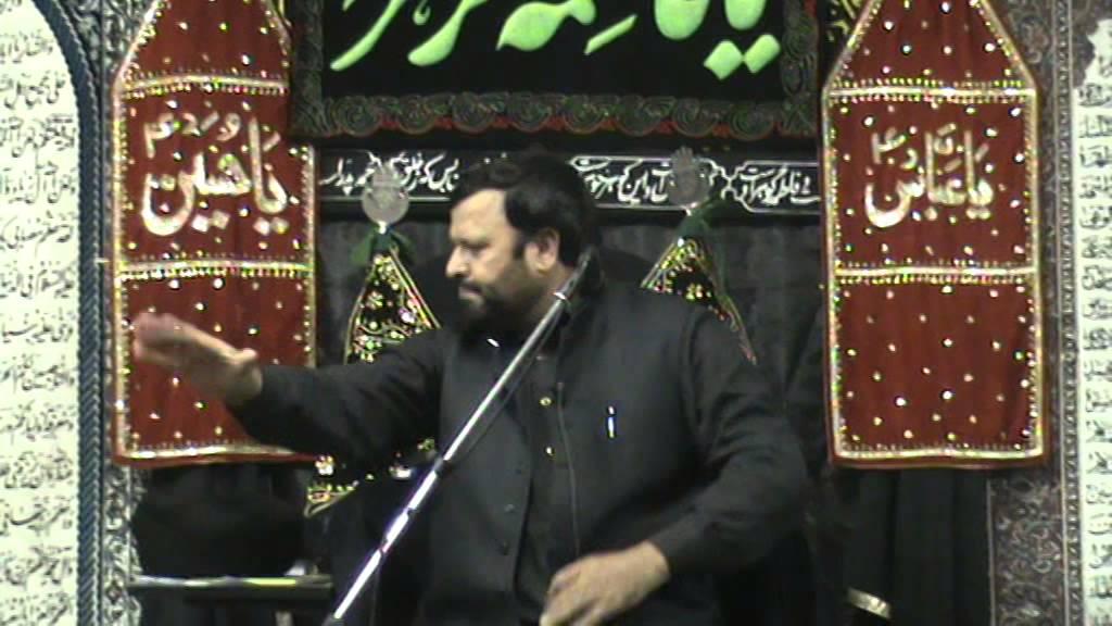 Majlis e Aza Speaker Maulana Syed Zakir Hussain From Shadiwal ...