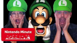 Luigi's Mansion Co-op Ghost Catching - Nintendo Minute