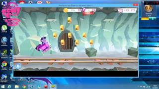 My little pony Android game: playing crystal mine minigame on PC