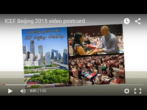ICEF Beijing 2015 video postcard