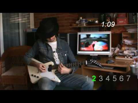 Alonso egy köre gitáron
