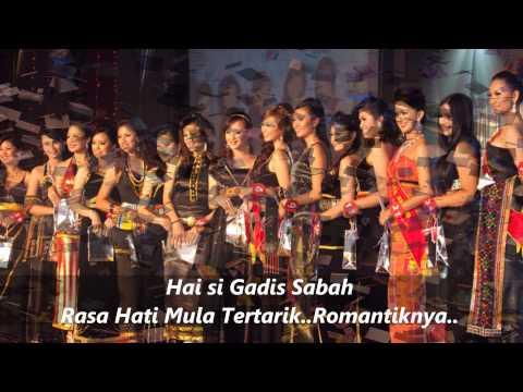 Gadis Sabah - S.Welly [Lirik]