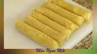 Uyen Thy's Cooking - Xôi Cuốn Chiên Dòn