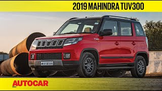 2019 Mahindra TUV300 Facelift | First Look Preview | Autocar India