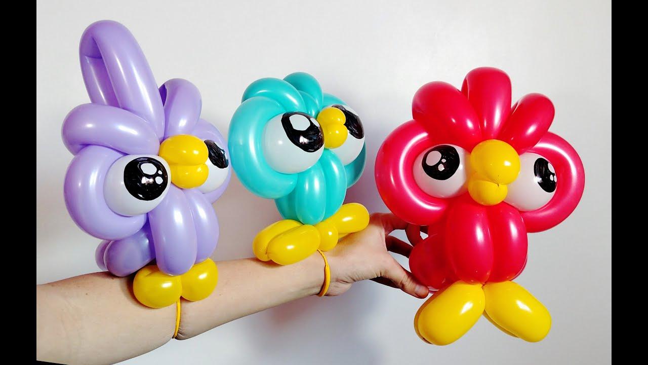 Фигуры из шаров пошаговое фото