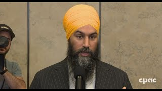 Jagmeet Singh Comments on His Meeting with Justin Trudeau