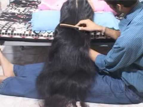 Indianrapunzels--sister's Long Hair Play video