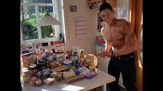 Vlog #1 | 10.000 kcal ?!? Cheatday | Training | GNBF