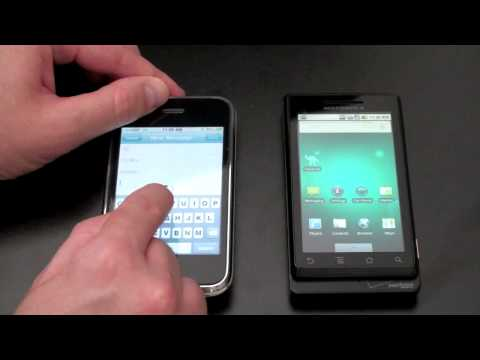 Motorola Droid Vs. iPhone 3GS