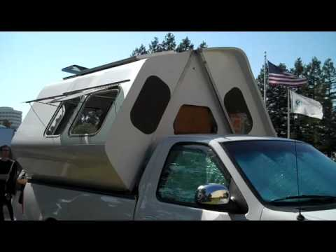 Cool fold-up camper