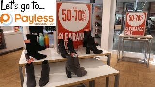 PAYLESS SHOE STORE CLEARANCE SALE * COME WITH ME..