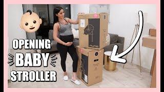 Unboxing Baby Stroller + Car Seat | Diana \u0026 Jose