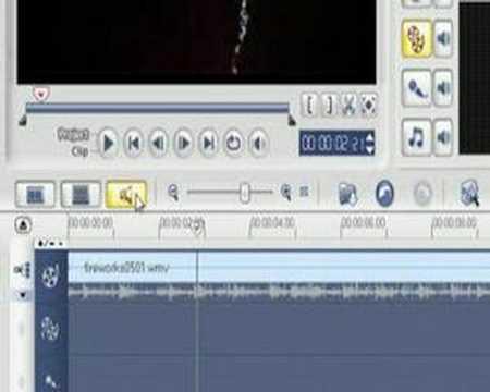 Adjusting Audio Level in Ulead VideoStudio 11 - Tutorial