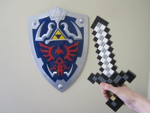 LEGO Iron Sword - Minecraft