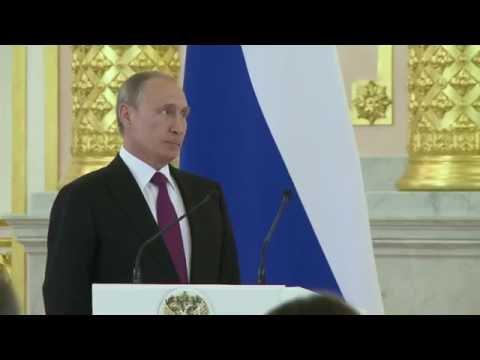 Putin pronostica olimpiadas grises sin atletas rusos