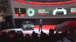 2013 LA Auto Show - Nissan Presentation with Usain Bolt