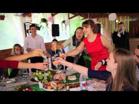 Нежная свадьба в зелено-розовых тонах