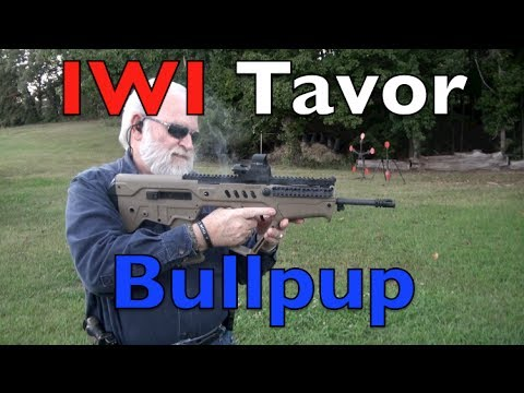 Tavor Bullpup Shooting Action