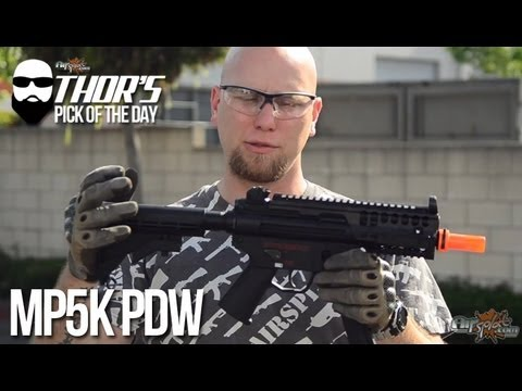 Thor's Pick of the Day - Galaxy MP5K PDW G5M Airsoft AEG Gun