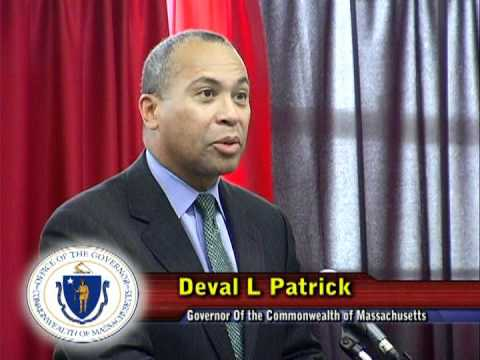 MA Governor Deval Patrick Visits Flight School, 2011