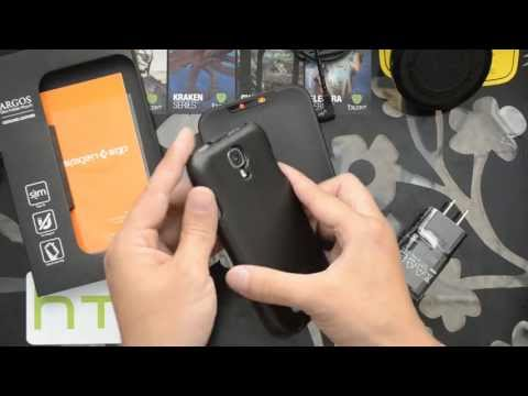 CricketUsers.com - Spigen Argos Leather Case for the Samunsg Galaxy S4 Review