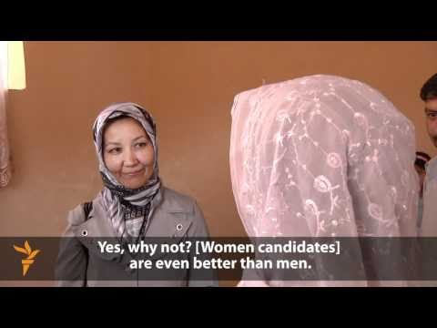 A Female Candidate Fights Tough Odds In Afghan Election