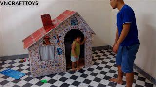 Kids toys -  Cardboard playhouse