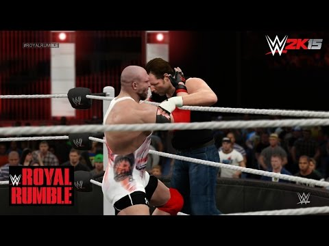 Wwe 2k15 Royal Rumble 2015 - 30 Man Royal Rumble Match! (featuring Surprises & Updated Attires!) video