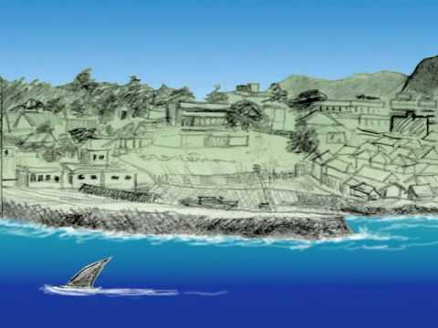 Dream of fishing village in Kanyakumari INDIA IE Sketch 02