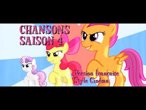 [Chansons] My Little Pony Les Amies C'est Magique – Saison 4 (Style cinéma)