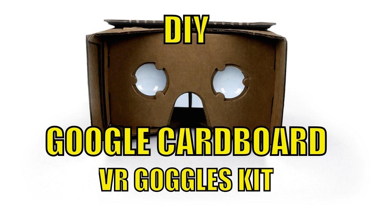 diy cardboard oculus rift get your google cardboard vr goggles youtube. Black Bedroom Furniture Sets. Home Design Ideas