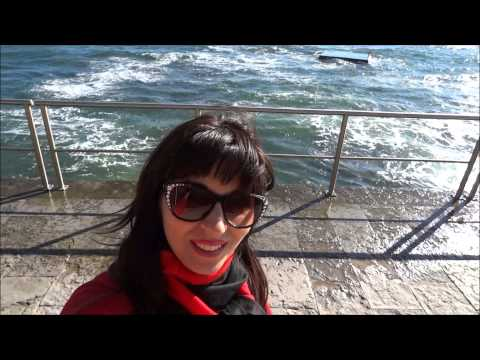 Portuguese Riviera. Estoril Coast with Beautiful Beach. Part 4