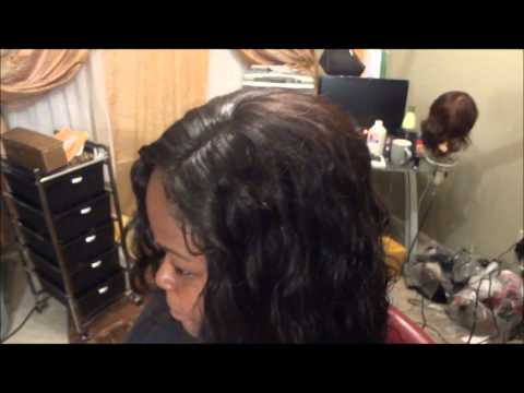 Invisible Hair line Sew in Weave No Glue No Leave out For high Ponytails (Official)