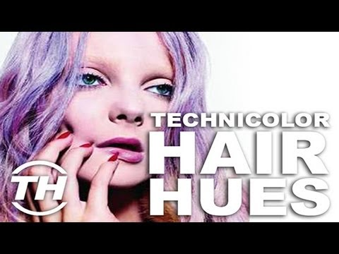 Technicolor Hair Hues - These Hair Coloring Ideas Make Artwork Out of Everyday Hairdos