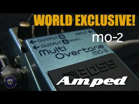 Boss MO-2 Multi-Overtone Pedal-First Look
