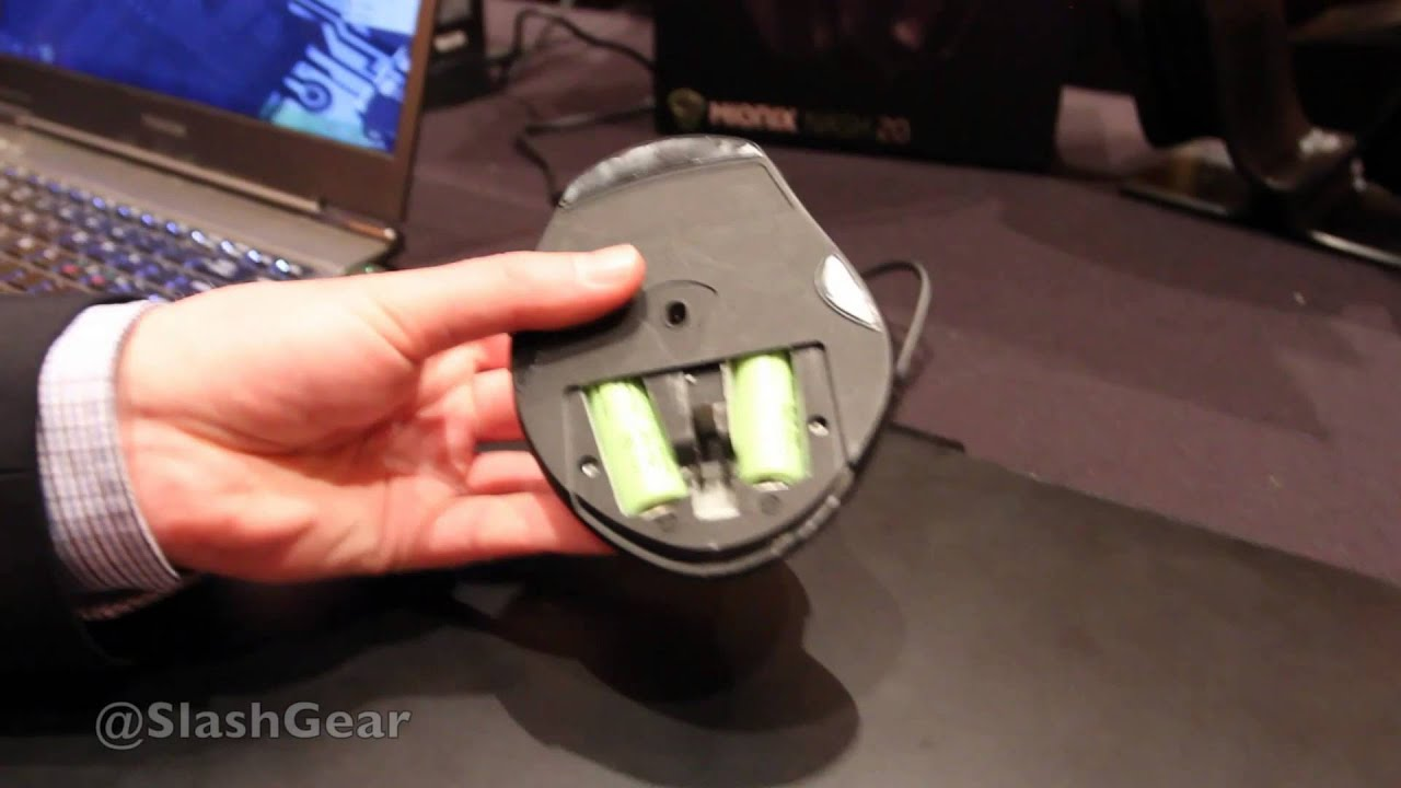 Inductive Charging Mouse Mionix Inductively Charged