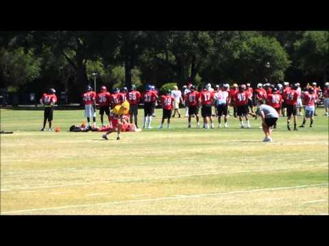 2014 Stanford WR Football Camp.  Isaiah Blanco, 2017 Palma High School. - 06/18/2014