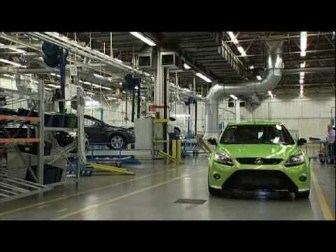 New Ford Focus RS Production Line