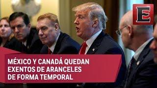 Trump aprueba aranceles a las importaciones de acero y aluminio