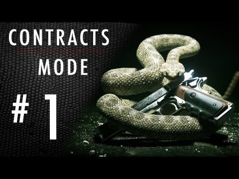 Hitman Absolution: Contracts Mode Expert Walkthrough: Part 1 - Last Samurai - [HD] Gameplay