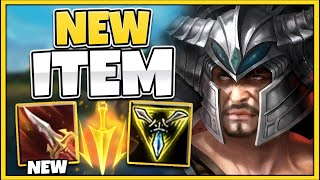 *BEST ITEM* NEW SANGUINE BLADE IS BROKEN ON TRYNDAMERE (TY RIOT!!) - League of Legends